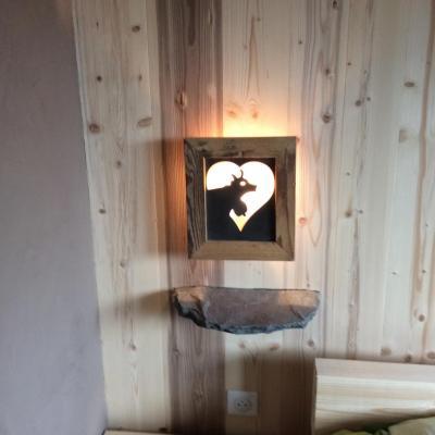 création d'une table de nuit avec luminaire1