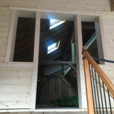 encadrement de fenêtre