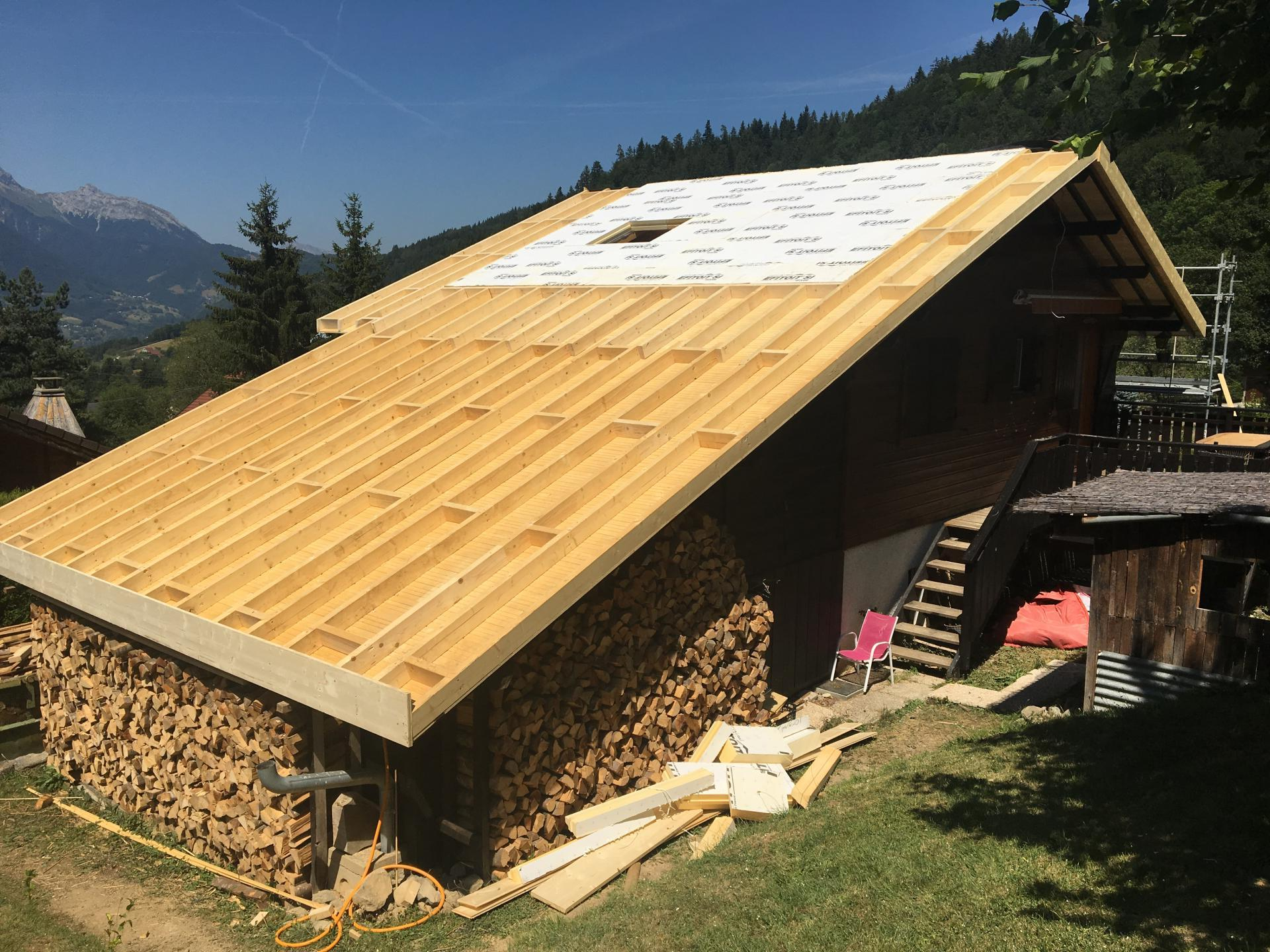 rénovation toiture FAVERGES