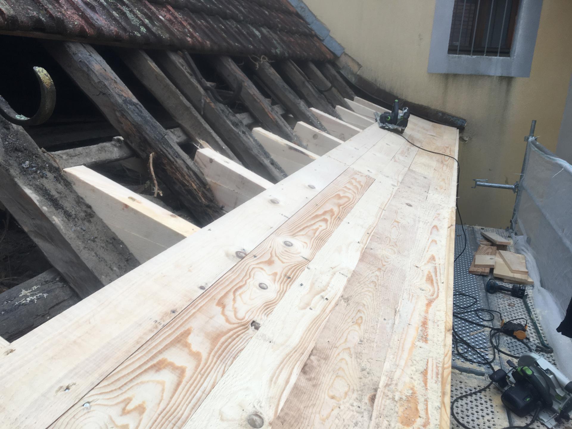 Rénovation toiture TALLOIRES
