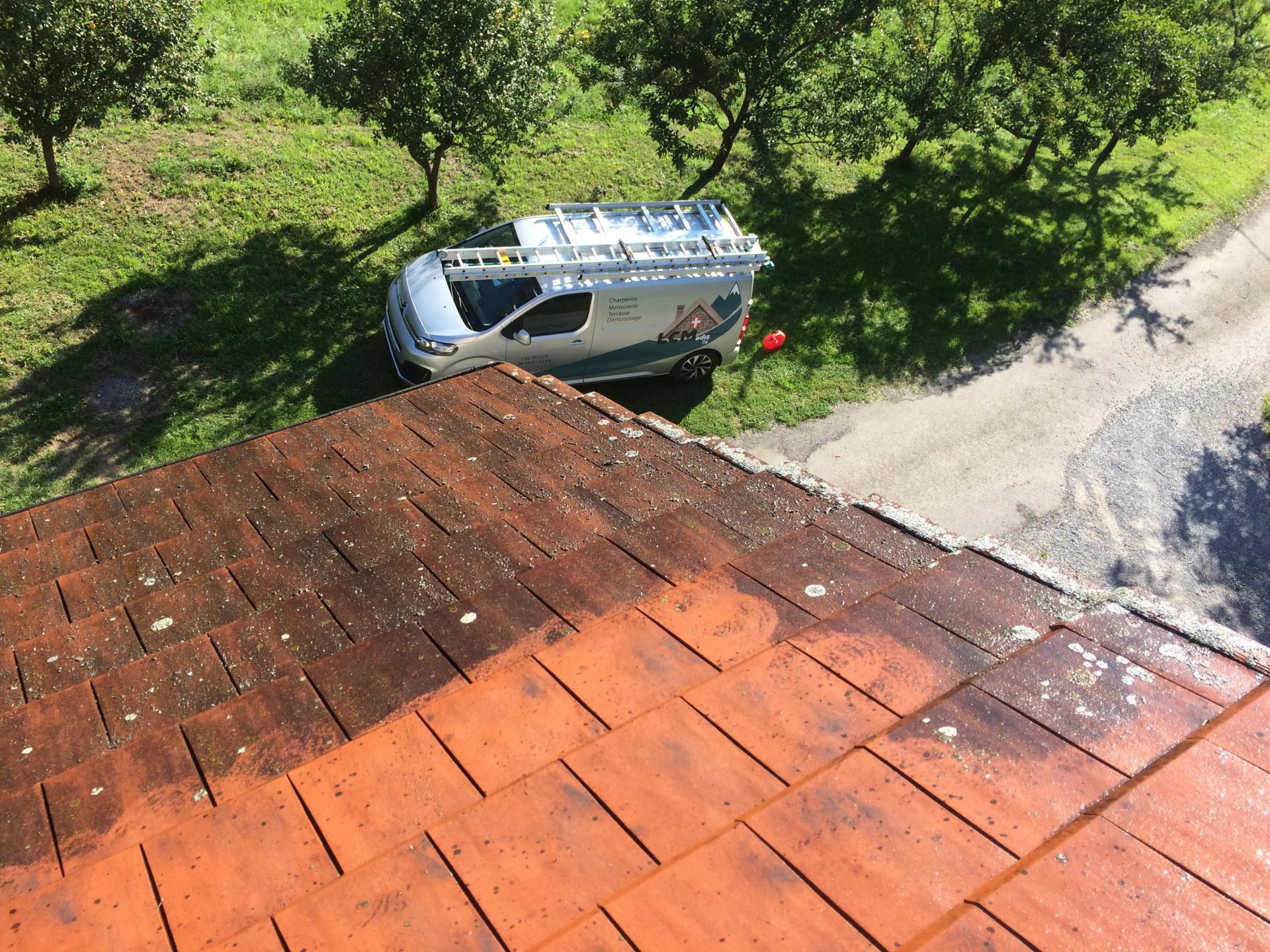 nettoyage de toiture à Doussard 74210